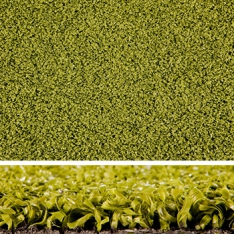 Artificial Grass - Oval - Olive Green